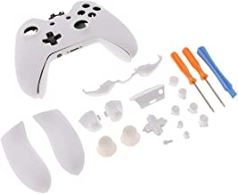 Baoblaze Replacement Housing Shell Faceplate Set Kit for Xbox One Elite Controller Parts, with Thumb Grip Cover, Trigger, ...
