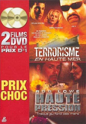 Haute pression, traque au fond des mers / Terrorisme en haute mer - Coffret 2 DVD