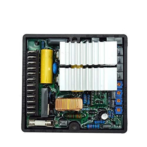 Regulador de voltaje SR7 sin escobillas alternador con conector electrónico módulo generador parte durable accesorios estabilizador protector reparación automática hogar
