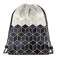 ハッピーイースター巾着袋、大人用幾何学トートバックパックサックパックトラベルビーチグローブ収納バッグ用ジムサックバッグ