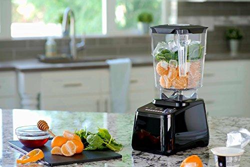 Blendtec - Original Designer Series Blender - WildSide+ Jar (90 oz) - Professional-Grade Power - Self-Cleaning - 6 Pre-Programmed Cycles - 8-Speeds - Sleek and Slim, Black