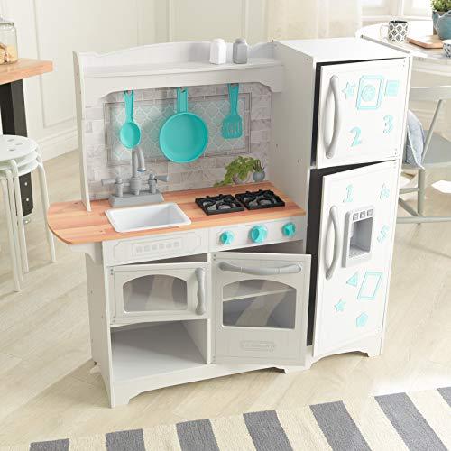 KidKraft 53424 Countryside EZ Kraft Assembly Spielküche aus Holz in Weiß - 7