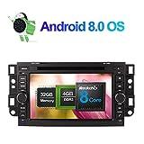 Android 8.0 Autoradio Stereo 4GB RAM GPS Navigation für Chevrolet Epica/Captiva/Lova 2006-2011 mit 7 Zoll Bildschirm Unterstützung DVD Multimedia Player Bluetooth FM AM RDS WLAN Kamera...