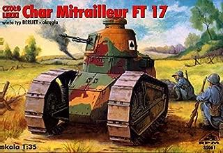 RPM Char Mitrailleur FT-17 Tank with Berliet Turret (1/35 Model kit, 35061)