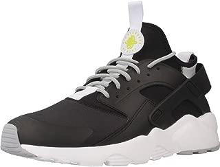 Nike Mens Air Huarache Run Ultra Running Shoes Black/White
