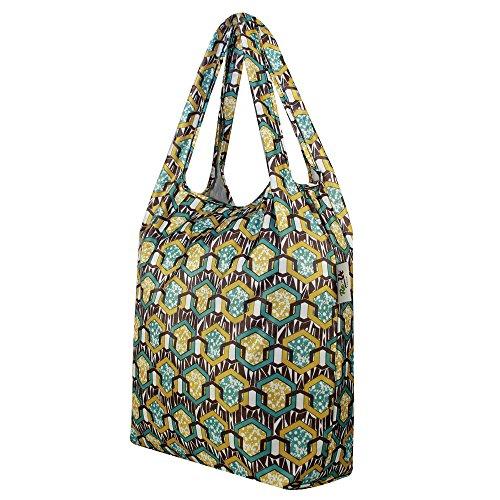 re-uz trendy pieghevole riutilizzabile impermeabile corriere shopper supermercato palestra Swim Grocery Tote bag–Link