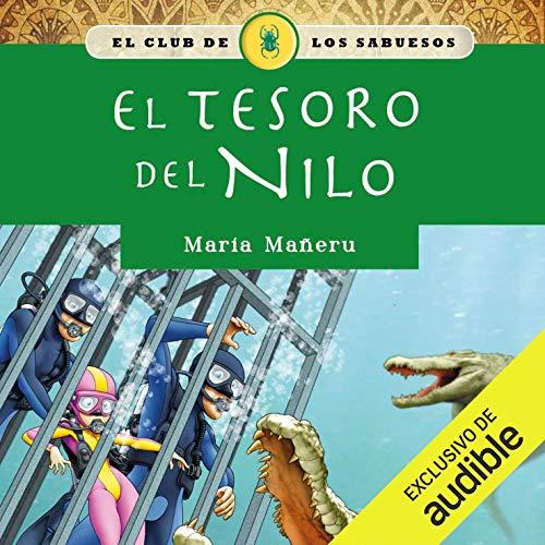 Diseño de la portada del título El tesoro del Nilo