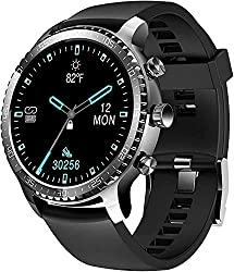 Image of Tinwoo Smart Watch for Men, Support Wireless Charging, Bluetooth Fitness Tracker with Heart Rate Monitor, 2020 Version Smartwatch for Android Phones Compatible with iPhone Samsung: Bestviewsreviews