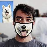 Cubre Cara Personalizado con tu Foto - Divertidas con tu Foto o Mascota - Debe usarse Encima de una...
