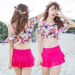 (マリア) MARIAH レディース水着 ミズギ オフショルダートップス 花柄 ビキニ 体型カバー bikini トップス