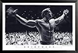 Gerahmtes Poster mit Enjoyment – Arnold Schwarzenegger Mr