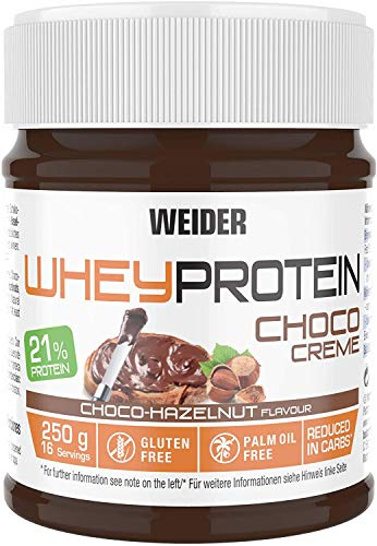Weider Whey Protein Chocolate Cream Spread, Delicious Taste for perfect quick snack, 250g