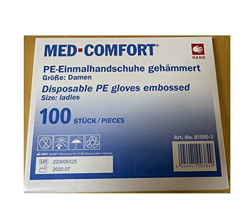 1000 PE-Handschuhe Damengröße, Dieselhandschuhe, Einmalhandschuhe, Einmal-Handschuhe