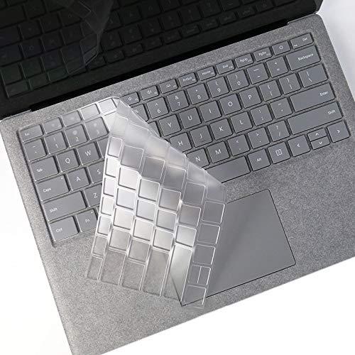 Qtfjgyf Laptop TPU Waterproof Dustproof Transparent Keyboard Protective Film for Microsoft Surface Go 10 inch