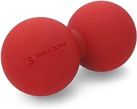 5BILLION Double Massage Ball - Pelota Lacrosse & Balon Fitness para Liberación Miofascial & Masaje Muscular - Herramienta de Masaje de Alta Densidad para Cross Fitness