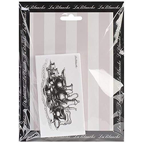 LaBlanche Silikon-Stempel, 6,3 x 10,2 cm, Teezeit, durchsichtig