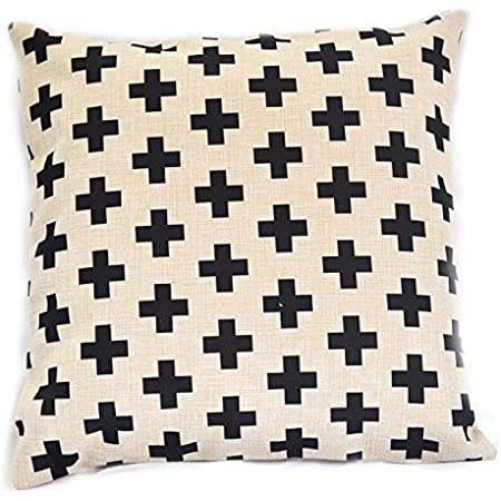 exposed zipper-leather pull Swisscross pillow cover 20x20 or 24x14 lumbar made with Pendleton wool army gold with cream cross