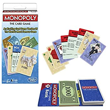 Winning Moves Games Monopoly The Card Game Monopoly & Rummy Blue