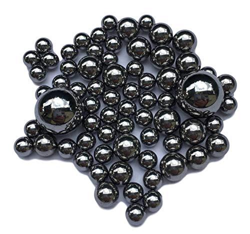 100x Stahlkugeln für Kugellager & Maschinenbau, Modellbau, Werkstatt, Wälzlager – 0.8mm bis 12mm 1 2 3 4 5 6 7 8 9 10 11 12 mm Gehärteter Chromstahl -Durchmesser Auswahl- (11mm)