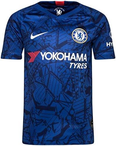 NIKE(ナイキ) チェルシーFC ホームユニフォーム 2019/20 [19 マウント] [サイズ:インポートM] Chelsea FC Home Shirt 2019/20 [19 MOUNT] [Size:Import M] [並行輸入品]