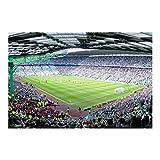 Vliestapete Fußballstadion, Größe: 190cm x 288cm