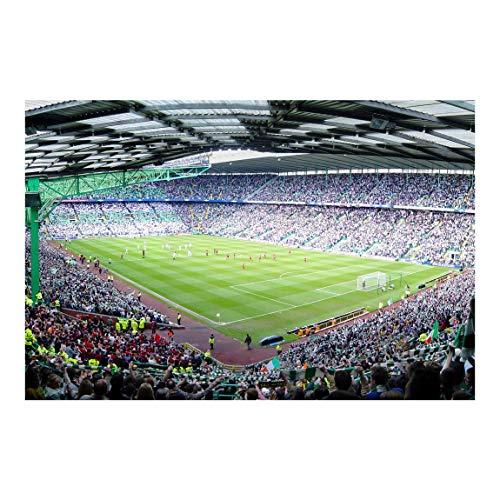 Vliestapete Fußballstadion, Größe: 225cm x 336cm