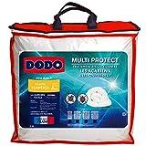 Dodo - Couette 220x240 Multi-Protect - Couette pour Lit 2 Personnes - Polyester Gonflant, Doux, et Traité Antibactérien, Antiacarien et Anti-punaises de lit - Fabriqué en France