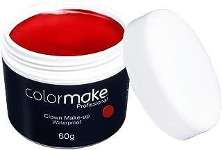 Clown Makeup Profissional 60G, Colormake, Vermelho