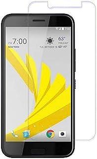 زجاج - واقي شاشة مع حماية زجاجية قوية، مقاوم للكسر لهاتف HTC U11