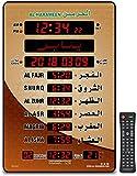 ROYAL WIND Azan Clock Led Prayer Clock,Wall Clock,Read Home/Office/Mosque Digital Azan Clock/LED Clock HA-5151