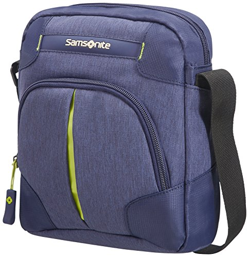 Samsonite Rewind Crossover Bolso Bandolera, 23 cm, 4,5 L,, Color Azul (Dark Blue)