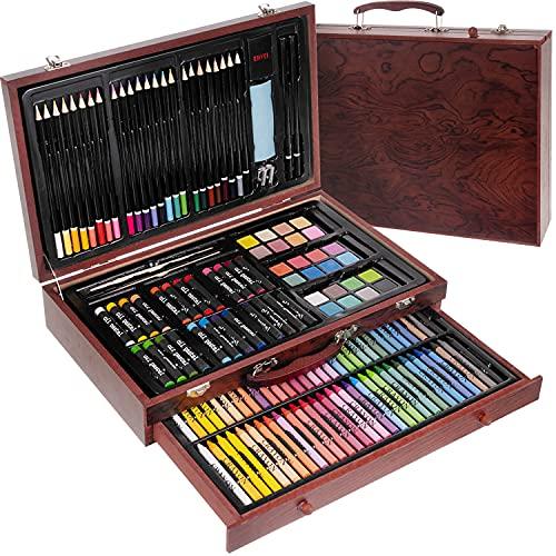 ISO TRADE Set da colorare 142 pezzi in valigetta, artisti, pittore, arte creativa, 15611