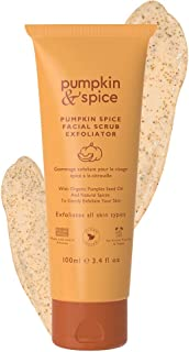 Sponsored Ad - Pumpkin Spice Gentle Facial Scrub Exfoliator - Removal For Excess Oil, Blackheads, Wrinkles, Dry Skin, Acne...