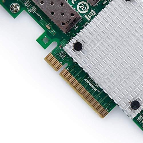 10Gtek® 10GbE PCIE Netzwerkkarte Broadcom 57810S Chip, Dual SFP+ Ports, 10Gbit PCI Express x8 LAN Adapter, 3-Year Warranty, MEHRWEG