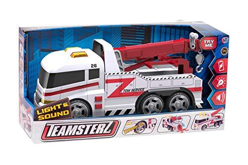 HTI camion grua 42 cm con luz y Sonidos teamsterz