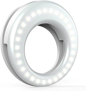 QIAYA Selfie Light Ring Lights LED Circle Light Cell Phone Laptop Camera Photography..