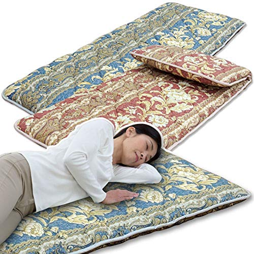 あったか寝具快適寝具『固わた入りごろ寝長座布団』