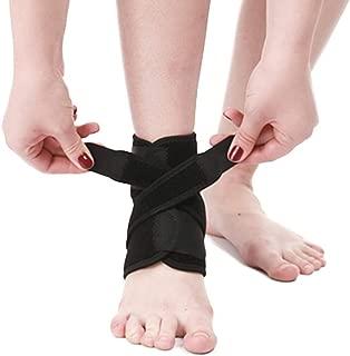 Yuccer Tobillera para Esguince Ajustable, Tobillera Deporte Proteccion para Hombres Mujeres Futbol Voleibol, Fitness Ejercicio y Senderismo
