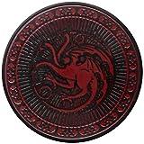 Boton Juego Tronos Negro Dragon Targaryen Sigil broche insignias Oficial