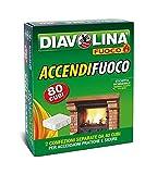Diavolina Accendifuoco 80 Cubi...