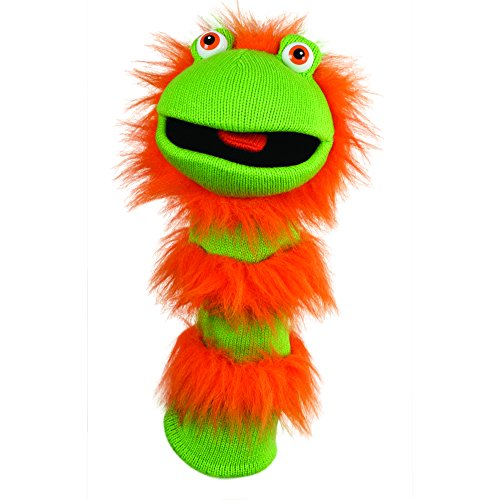 Knitted Puppet Ginger Puppet