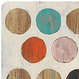Creative Tops Retro Spot Premium-Tischsets mit Korkrückseite im 4-teiligen Set, 40 x 29 cm (15¾ x 11½ Zoll) - 4