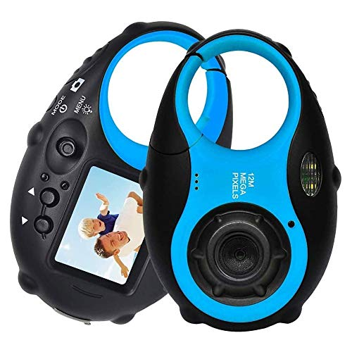 DONGZHESHANGCHENG Kids Camera for Girls, Digital Video Camera for Kids Toddler 1080P 12MP 4× Digital Zoom Digital Camera Card for 3-10 Year Old Boys Girls Birthday