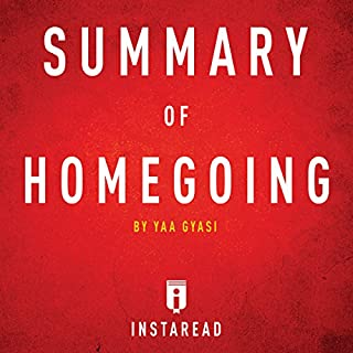Summary of Homegoing by Yaa Gyasi | Includes Analysis audiobook cover art