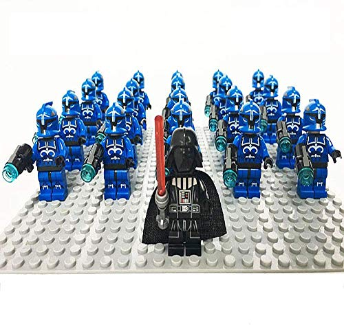 bas Figures Toys Playsets Black Series Model Statue for Children Sith Soldiers Elite PreTorian Guard Clone Soldiers Darth Vader Captain Phasma And More 522 Imperial Trooper-613 Leader And Troopers