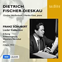 Fischer-Dieskau: Lieder Collection by F. Schubert (2007-07-28)