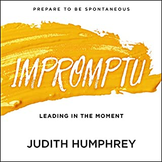 Impromptu audiobook cover art