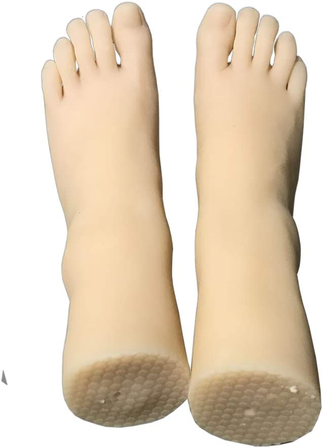 Silicone Foot Model Like Real Safety and Online limited product trust Right Left Pair One