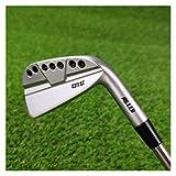 YDL Set De Plancha De Golf Silver 0311st Golf Clubs Set 8pcs 3-9w Eje De Acero O Eje De Grafito con Cubierta De Varilla (Color : KBS TGI 80)