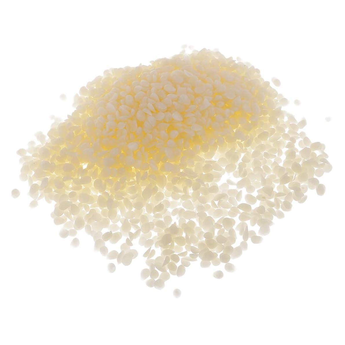 にほとんどない不公平Baoblaze オーガニック ピュアホワイト ミツロウ ペレット 化粧品原料 DIY リップバーム原料 約100g